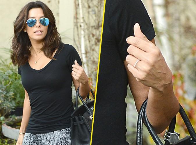 Photos : Eva Longoria : fiancée à Antonio Baston ? LA bague qui sème le doute !