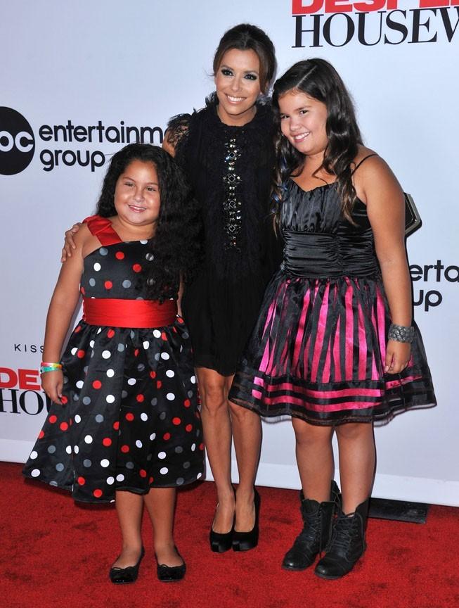 "Eva Longoria avec ses deux ""filles"" !"