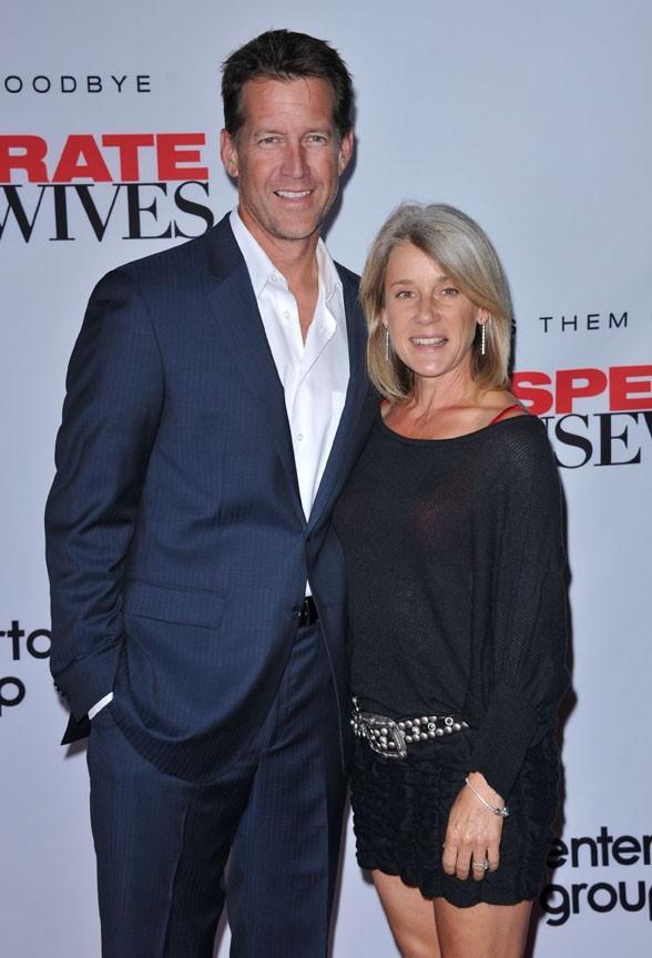 James Denton et sa femme