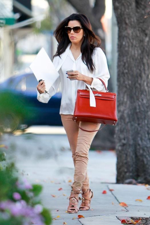 Eva Longoria à Los Angeles le 8 janvier 2013