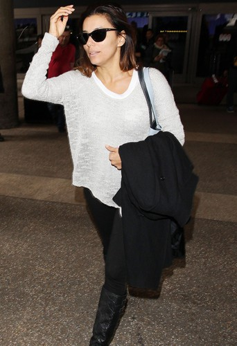 Eva Longoria à Los Angeles le 6 février 2014