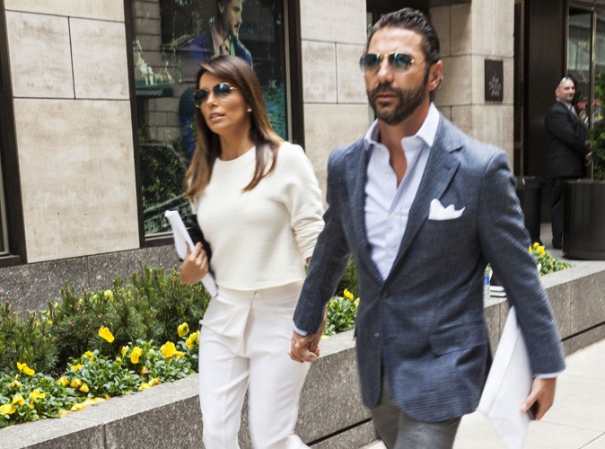 Eva Longoria : retrouvailles avec son beau Jose avant son départ pour Paris !