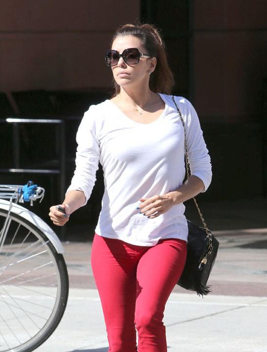 Eva Longoria à West Hollywood le 23 juillet 2013