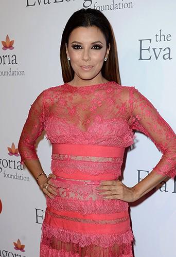 Eva Longoria à Hollywood le 28 septembre 2013
