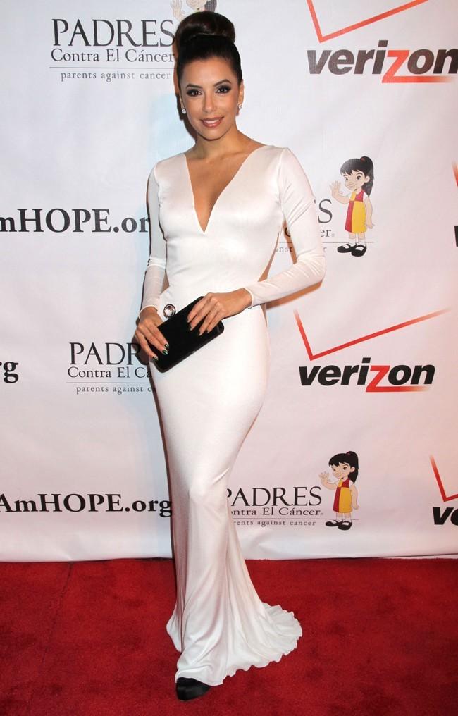 Eva Longoria le 29 septembre à Las Vegas