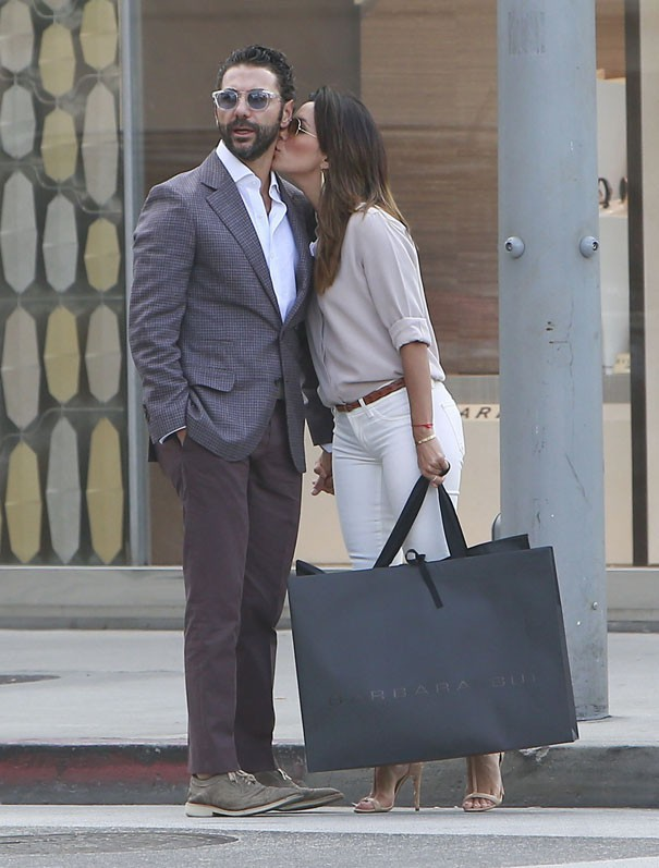 Eva Longoria et Jose Antonio Baston à Los Angeles le 22 mai 2014