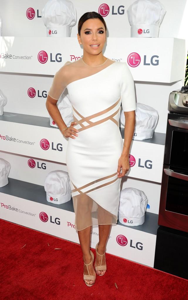 Eva Longoria le 22 août 2015