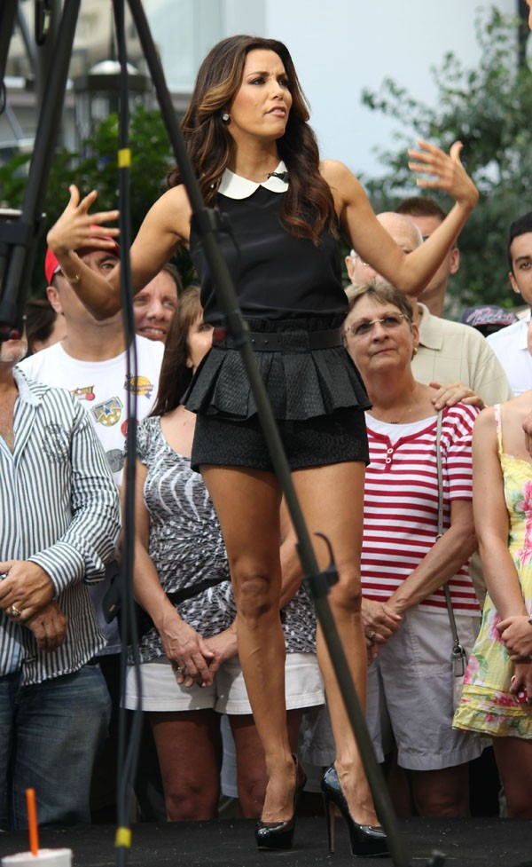 Eva Longoria à Los Angeles le 11 septembre 2012