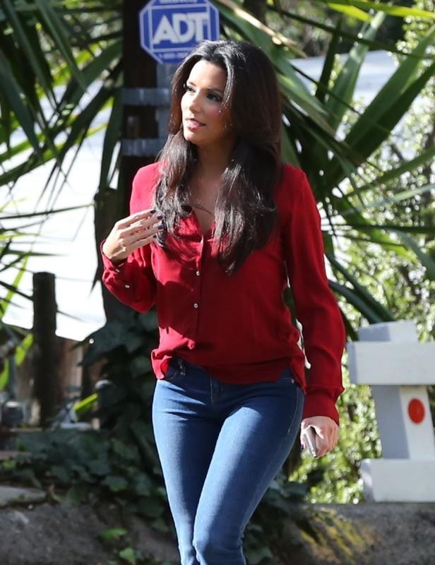 Eva Longoria le 7 janvier 2013 à Santa Monica