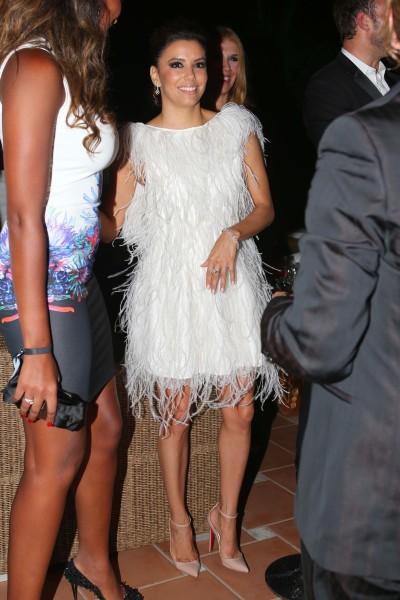 Eva Longoria lors de l'after-Party du Global Gift Gala à Marbella, le 4 août 2013.