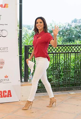 Eva Longoria à Marbella le 3 août 2013