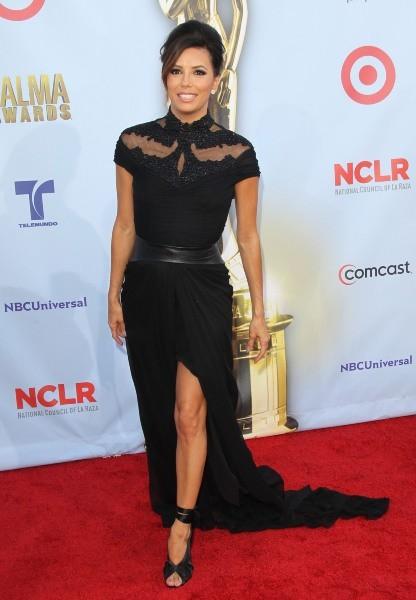 Eva Longoria lors de la cérémonie des ALMA Awards à Pasadena, le 16 septembre 2012.