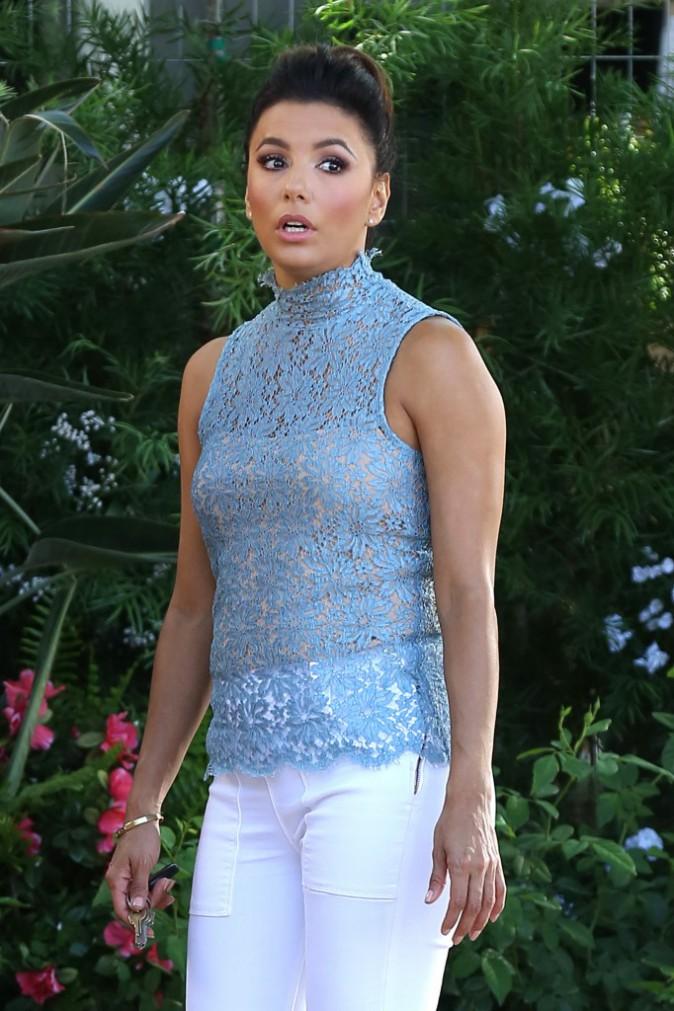 Eva Longoria le 1er octobre 2015