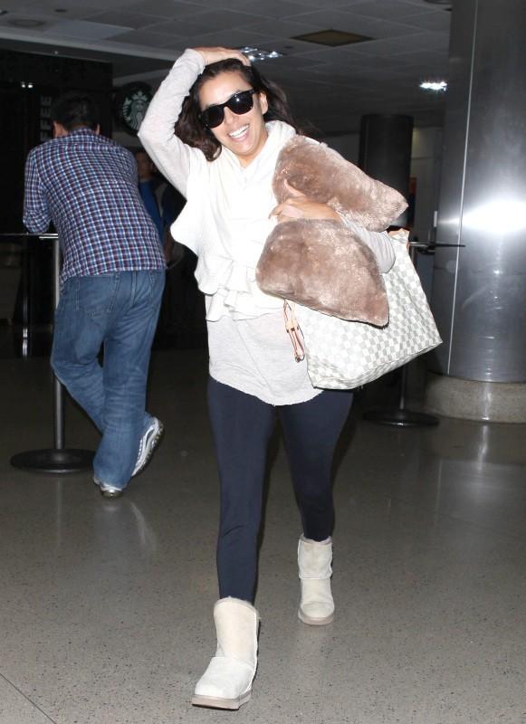 Eva Longoria le 20 octobre 2012 à Los Angeles