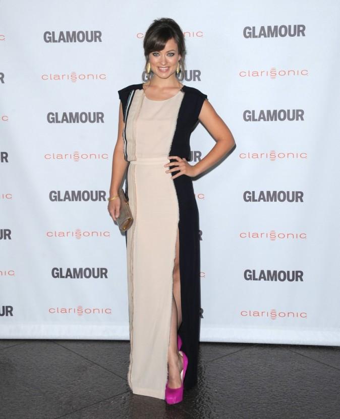 Olivia Wilde lors de la soirée Glamour Reel Moments à Hollywood, le 24 octobre 2011.