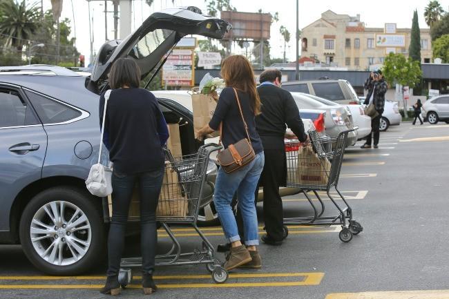 Eva Mendes, Los Feliz, 30 décembre 2012.