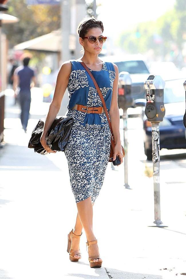 Eva Mendes le 21 août 2012 à Los Angeles