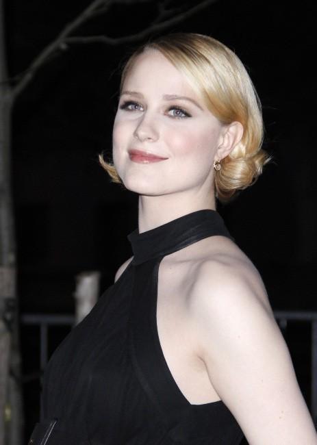 """Evan Rachel Wood lors de la soirée """"11th Annual TriBeCa Film Festival Vanity Fair Party"""" à New York, le 16 avril 2013"""