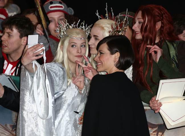 Avant-première mondiale du nouvel Hobbit à Londres le 1er décembre 2014