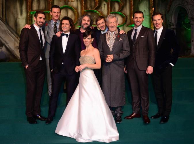Evangeline Lilly, Orlando Bloom... Tous réunis à Londres pour l'avant-première du nouvel Hobbit !