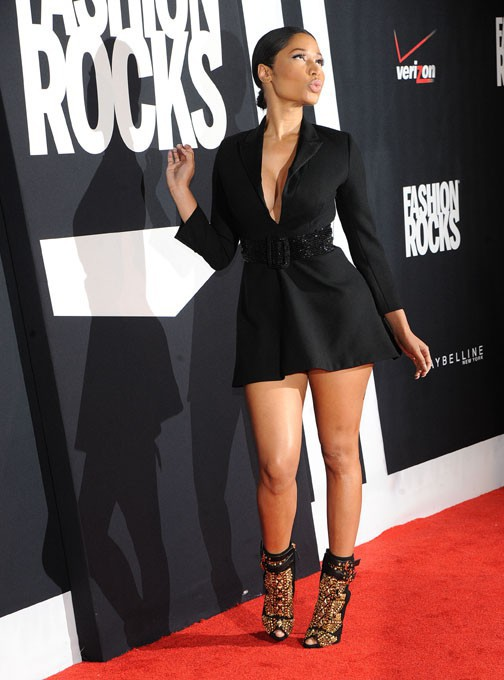 Nicki Minaj à la soirée Fashion Rocks organisée à New-York le 9 septembre 2014