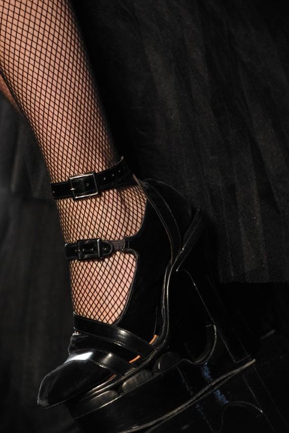 Sympa ses shoes !