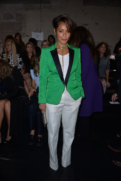Fashion Week de Paris : Jada Pinkett Smith au défilé Vionnet