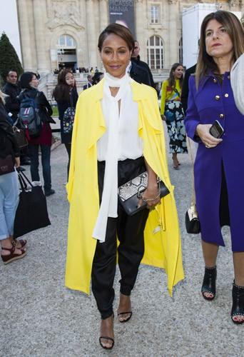 Photos : Fashion Week de Paris : Jada Pinkett Smith, le caméléon est de tous les défilés !