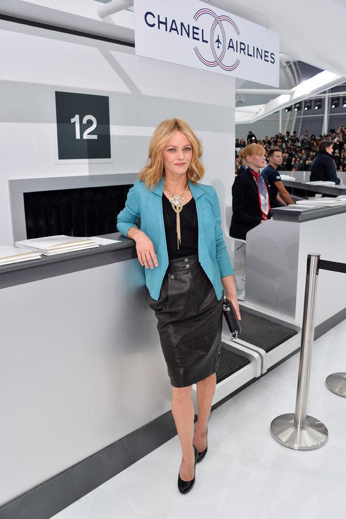 Vanessa Paradis à Paris le 6 octobre 2015