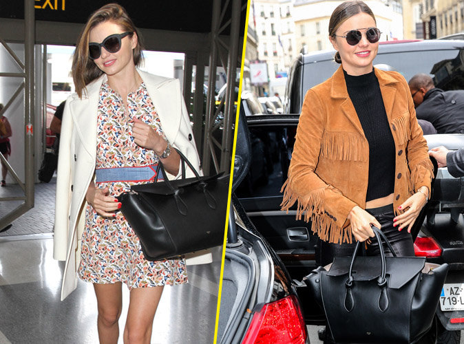 Fashion Week de Paris : Miranda Kerr passe au look automnal pour débarquer dans la capitale !