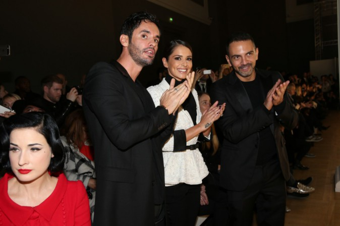 Cheryl, Jean-Bernard Fernandez-Versini et Dita Von Teese le 29 janvier 2015