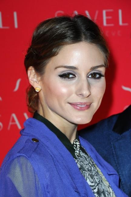 Olivia Palermo lors de la soirée Savelli à Paris, le 3 juillet 2013.