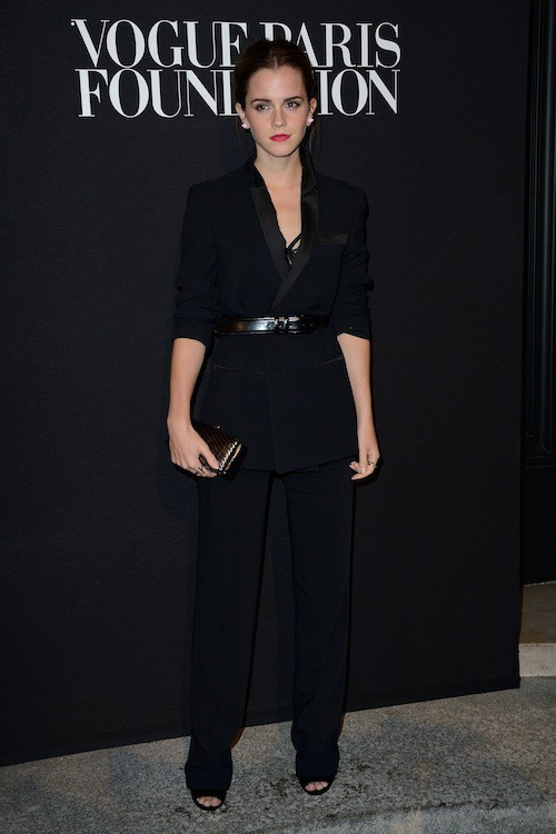 Emma Watson en Givenchy au gala Vogue Foundation le 9 juillet 2014