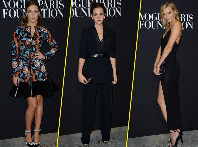 Fashion Week HC : Adele Exarchopoulos, Emma Watson, Karlie Kloss : d�fil� de stars � la soir�e Vogue !