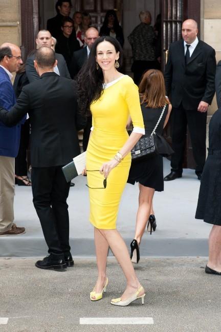 L'Wren Scott au défilé Dior Haute Couture à Paris, le 2 juillet 2012.