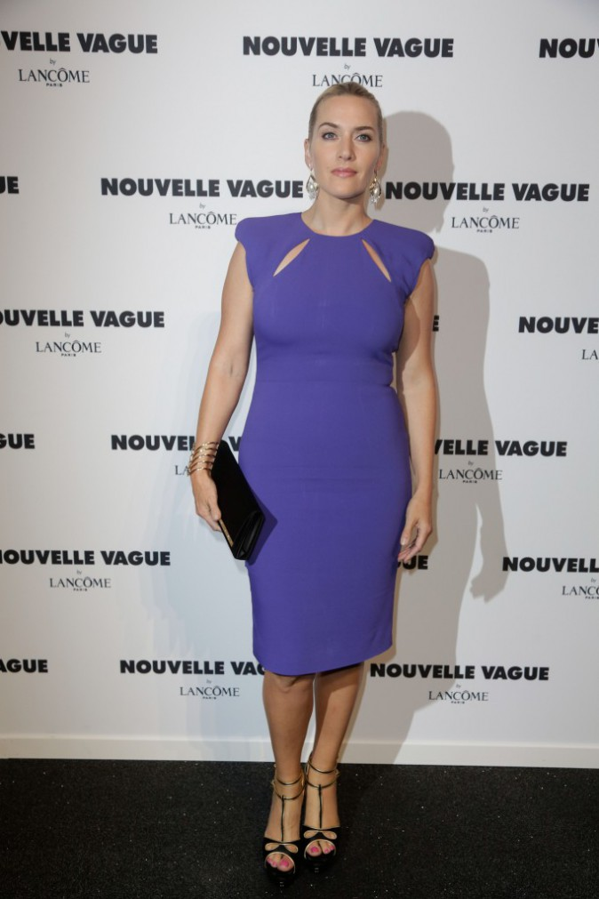 Fashion Week HC : Kate Winslet : une �g�rie qui a illumin� la soir�e Lanc�me !