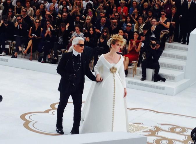Le défilé Chanel à Paris, le 8 juillet 2014