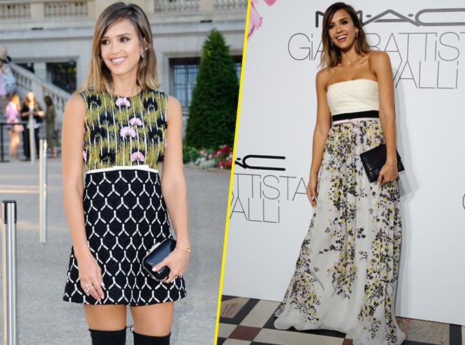 Fashion Week : Jessica Alba : plus �poustouflante que les tops !