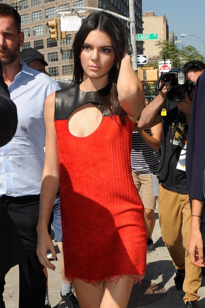 Kendall Jenner le 17 septembre 2015