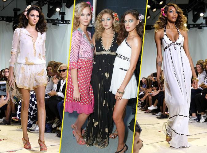 Photos : Fashion Week New York : Kendall, Karlie, Gigi, Irina, Jourdan… Les Babes de DVF !