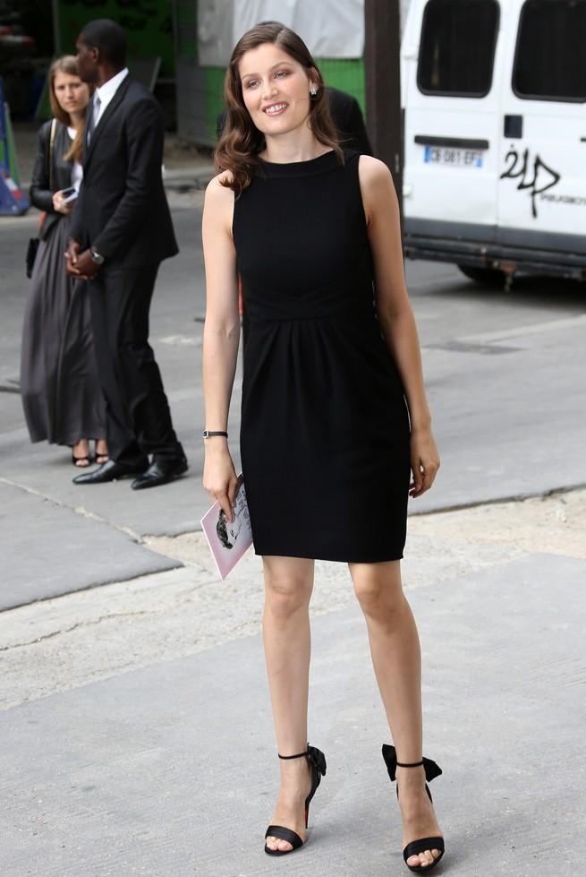 Laetitia Casta au défilé Haute Couture Chanel le 3 juillet 2012 à Paris