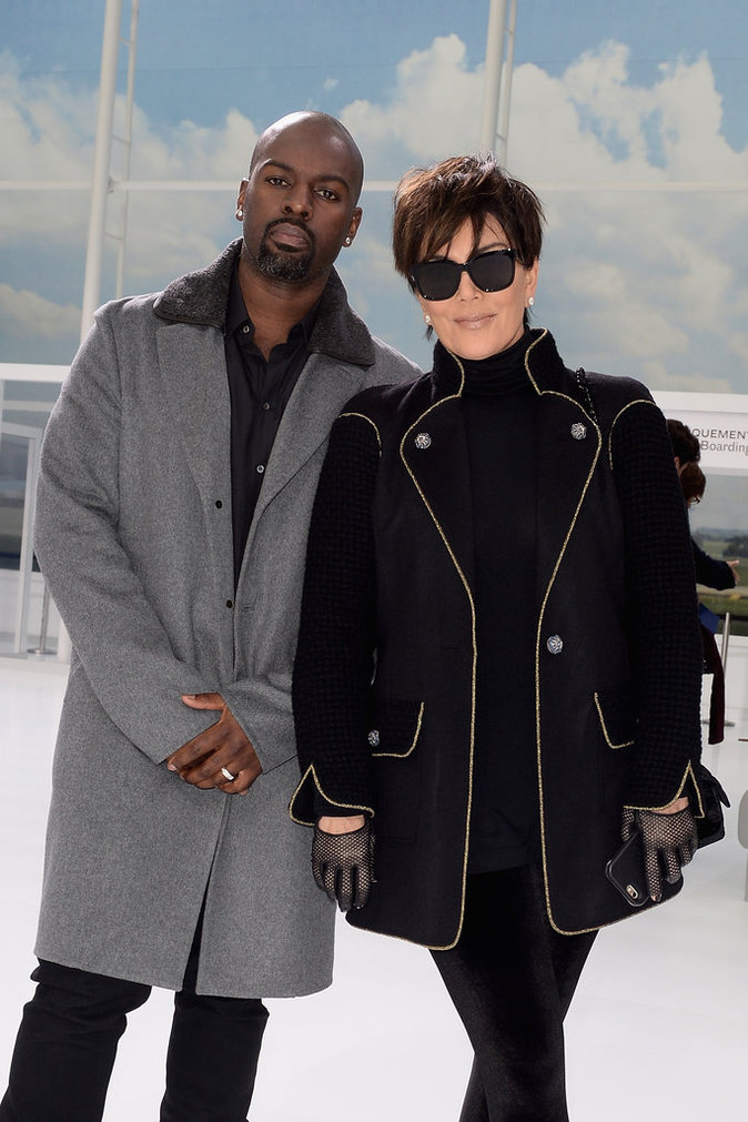 Kris Jenner et Corey Gamble le 6 octobre 2015