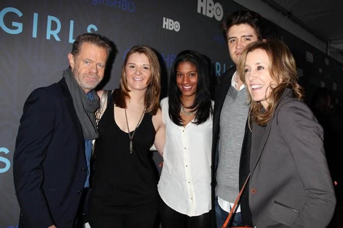 Felicty Huffman au lancement de la saison 2 de Girls à New-York le 9 janvier 2013