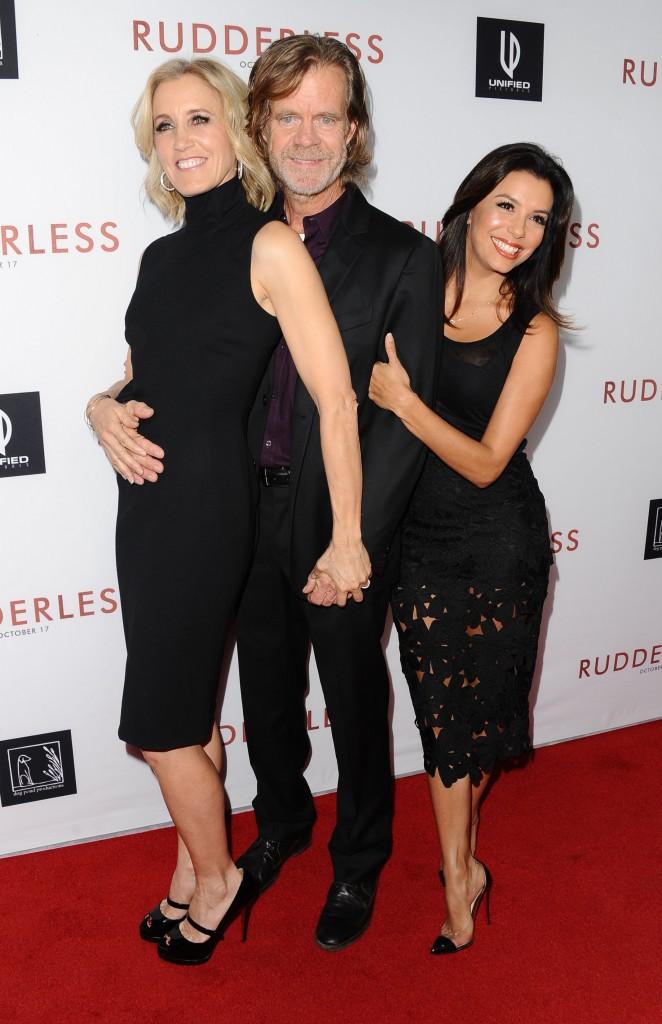 Felicity Huffman, William H.Macy et Eva Longoria à Los Angeles le 7 octobre 2014