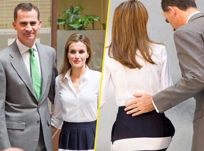 Felipe et Letizia : le nouveau couple royal s'affiche toujours plus uni et très tactile !