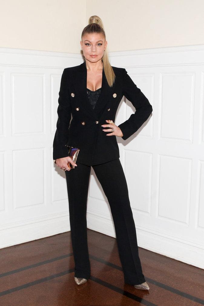 Photos : Fergie : apparition très glam' pour la sexy mama