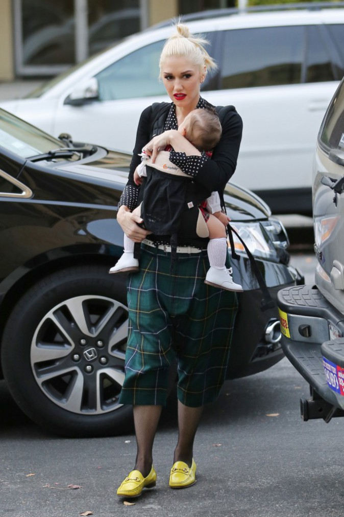 Gwen Stefani le 25 décembre 2014