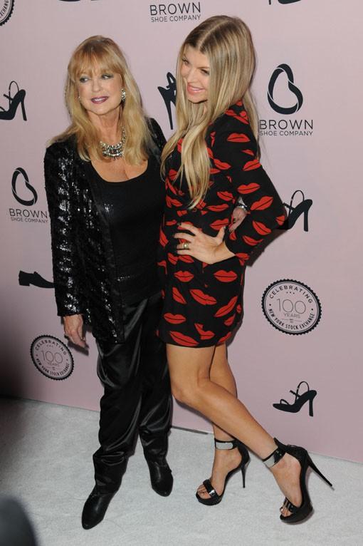 Fergie au 100e anniversaire de la marque Brown Shoe organisé à New-York le 23 avril 2014