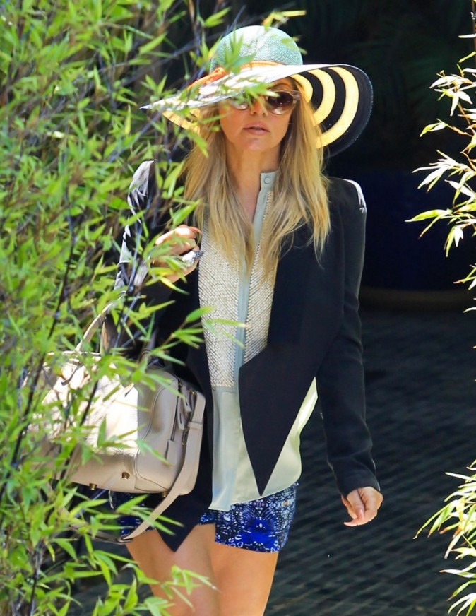 Fergie, Hollywood, 5 août 2012