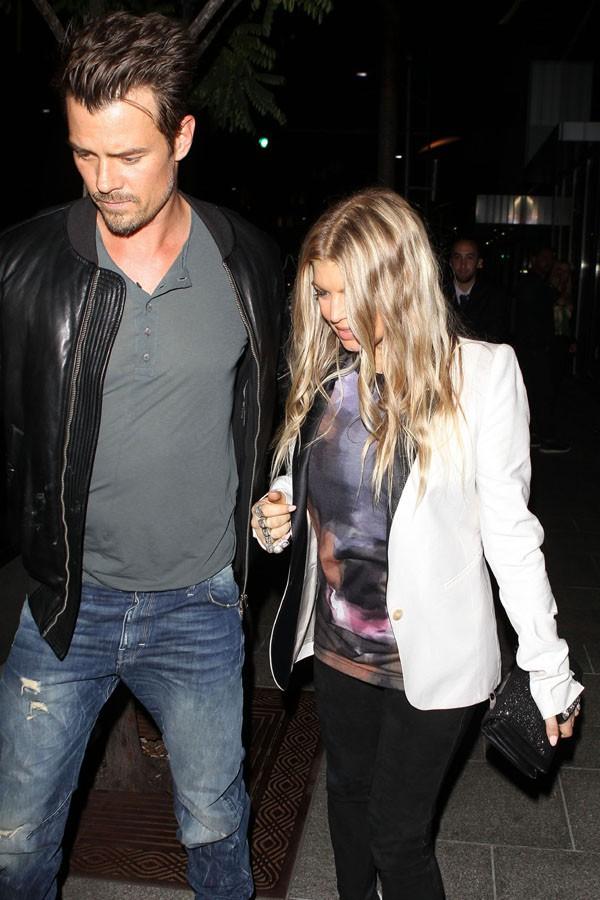 Fergie et Josh Duhamel à Beverly Hills le 25 septembre 2013